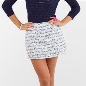 Lilly Pulitzer buoy skirt size 4
